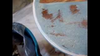 "End Table Coffee Tables Video ""how To Use Tuff Strip"" #4"