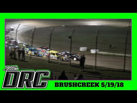 Brushcreek Motorsports Complex | 5/19/18 | Open Wheel Modifieds
