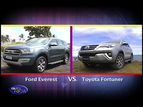 Ford Everest vs Toyota Fortuner   Head 2 Head 2017