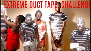 THE DUCT TAPE ESCAPE CHALLENGE!! (HILARIOUS MUST WATCH)