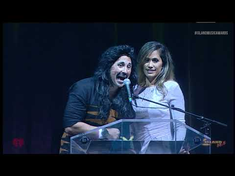 Island Music Awards - Dennis Figuerota & Andria Tupola Present Group of the Year