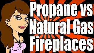 Propane Gas Fireplaces vs Natural Gas Fireplaces