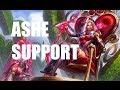 League of Legends - Heartseeker Ashe Support - Full Game with Sebastien