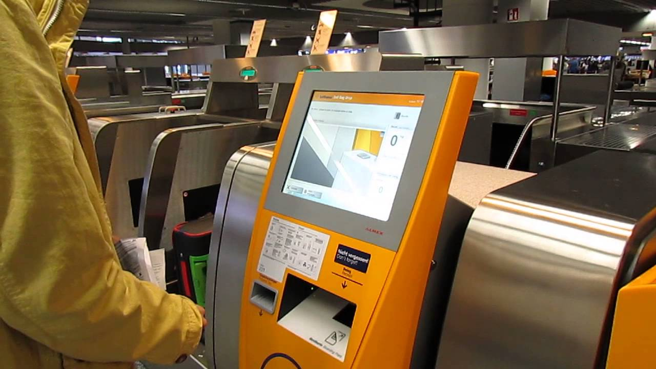 lufthansa check in automat