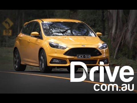2015 Ford Focus ST First Drive Video Review Drive.com.au