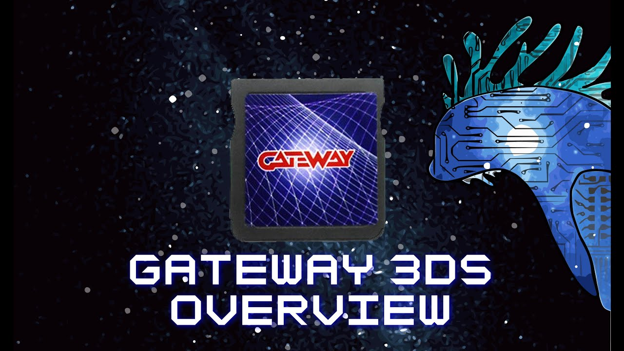 How to use gateway 3ds card to backup/dump 3ds roms from genuine .
