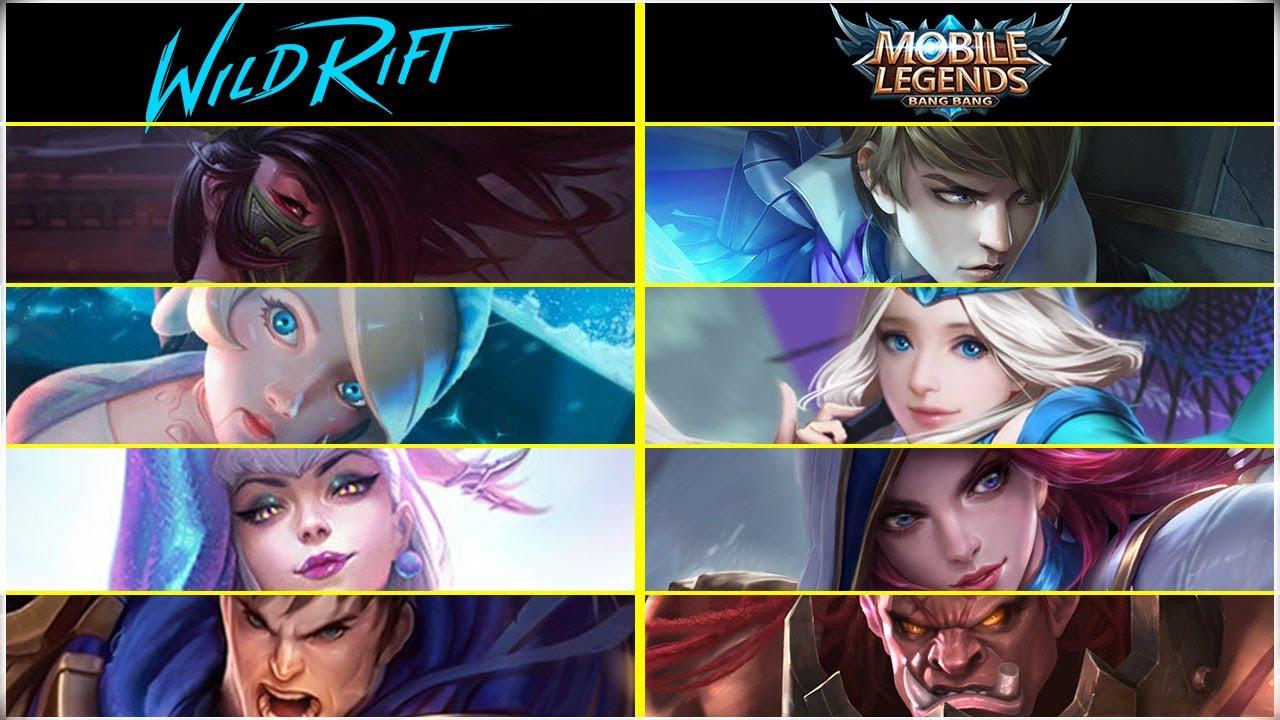 Mobile Legends vs LoL Wild Rift Hero Comparison (Part II)