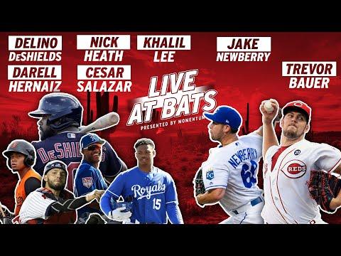 Cleveland Indians OF Delino DeShields FACES Cincinnati Reds P Trevor Bauer In The DESERT | Live AB's