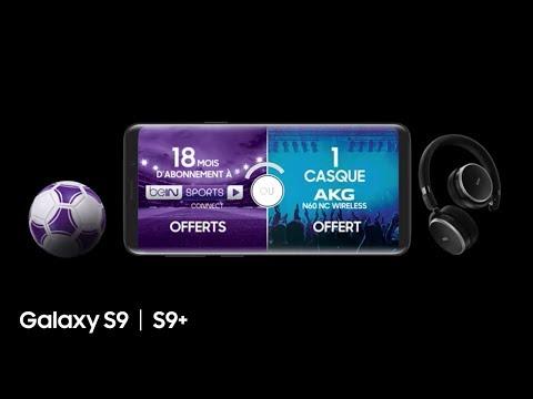 Samsung Galaxy S9   S9+ : Spot TV – Offre Sport ou Musique