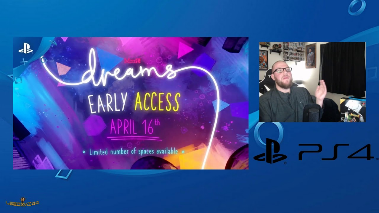 Dreams Early Access Gets Release Date on PS4