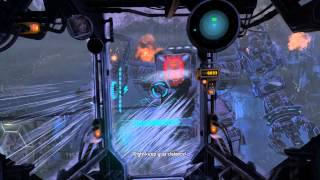 Lost Planet 3 Defeat Laroche rig fight Walkthrough Playthrough Let's play