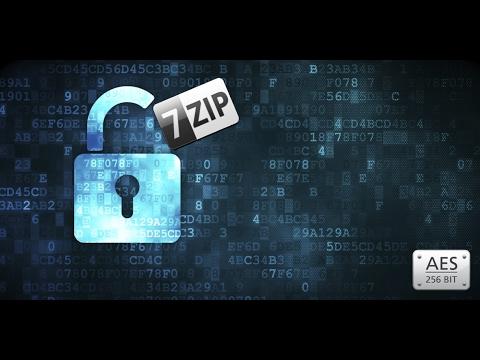 7 zip encrypt file