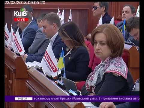 Телеканал Київ: 23.03.18 Столичні телевізійні новини 09.00