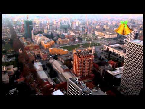 Tirana në prag të festave të fundvitit, pamje nga ajri për RTV Ora News nga Alket Islami