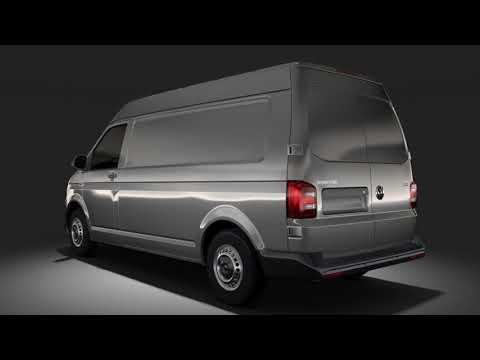 3d model of volkswagen transporter van l2h2 t6 2017 review youtube. Black Bedroom Furniture Sets. Home Design Ideas