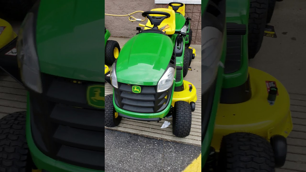 The truth about John Deere mowers at the big box stores - YouTube