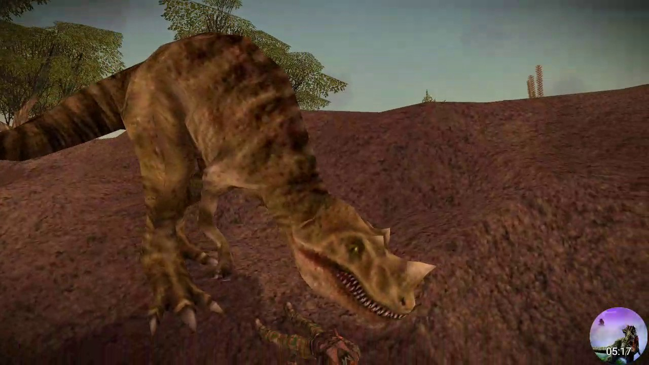 carnivores dinosaur hunter hunting trex and