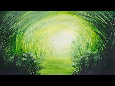 Gry Path Monochromatic Painting