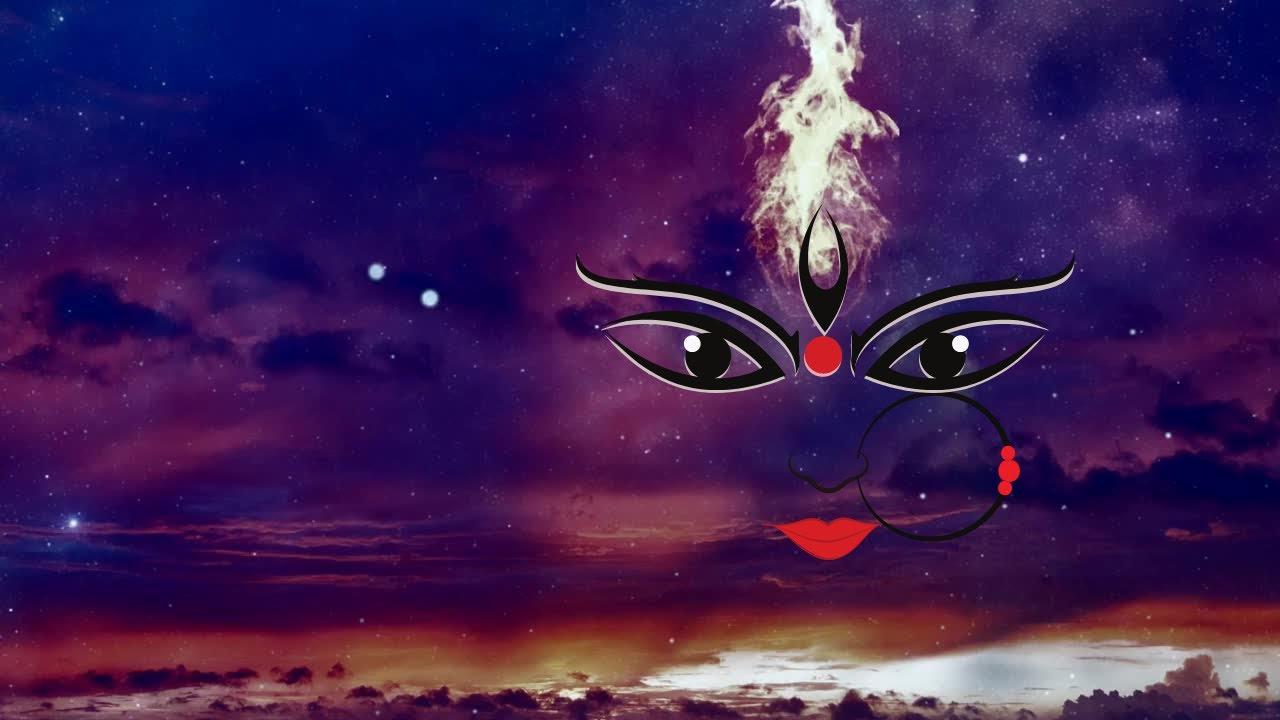 Download Maa Shok Dukh Nivarini   Maa Shera Wali Namastute   Complete Mantra with meaning  21 times Durga Maa