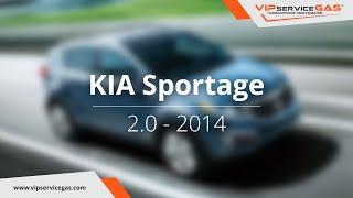 Обзор ГБО на KIA Sportage 2.0 2014 - ГБО Landi Renzo (ГАЗ на Киа спортаж 2.0) VIPserviceGAS Харьков