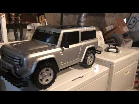 Sixth scale RC 2004 Ford Bronco Concept truck