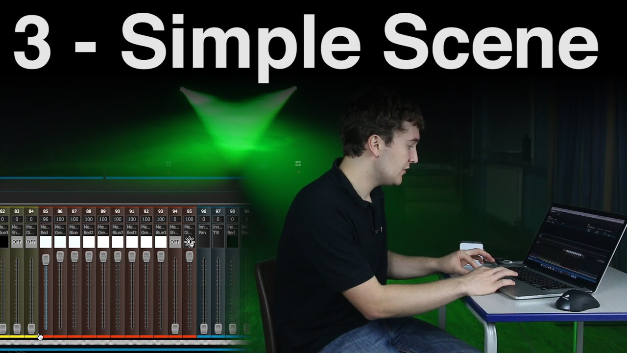 Download Building a Simple Scene | ADJ MyDMX 2.0 [Tutorial 3]