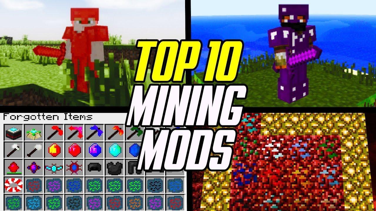 Top 10 Best Minecraft Mining Mods (Ore & Gemstone Mods)