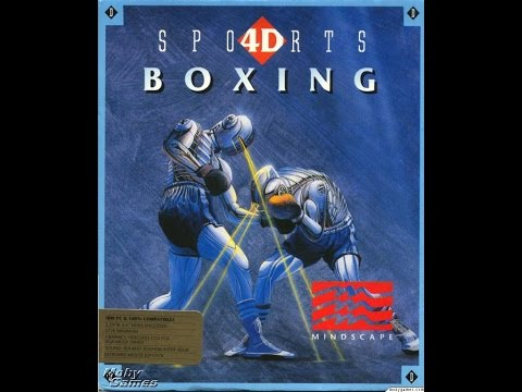 4d Sports Boxing (Dos PC) Intro & Demo / Distinctive Software, Inc. / 1991