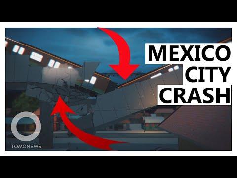 Mexico City Metro Line Collapses