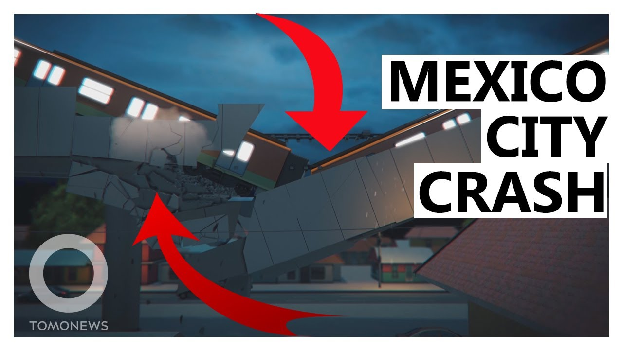 Mexican Metro Line Collapses