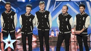 Repeat youtube video Cartel bust serious hip hop moves   Britain's Got Talent 2014