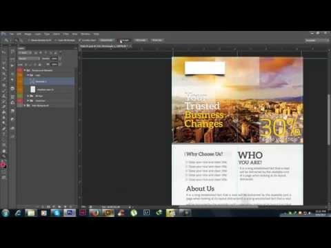 Free Photoshop PSD Awareness Poster Template