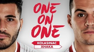 WHICH SONG DID SEAD SING? | Kolasinac & Xhaka go 'One on One'