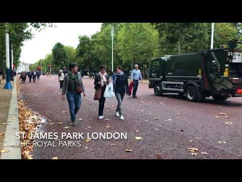 St James Park Buckingham Palace London