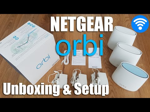 FASTEST WiFi AT HOME!! Netgear Orbi [Unboxing and Complete Setup]