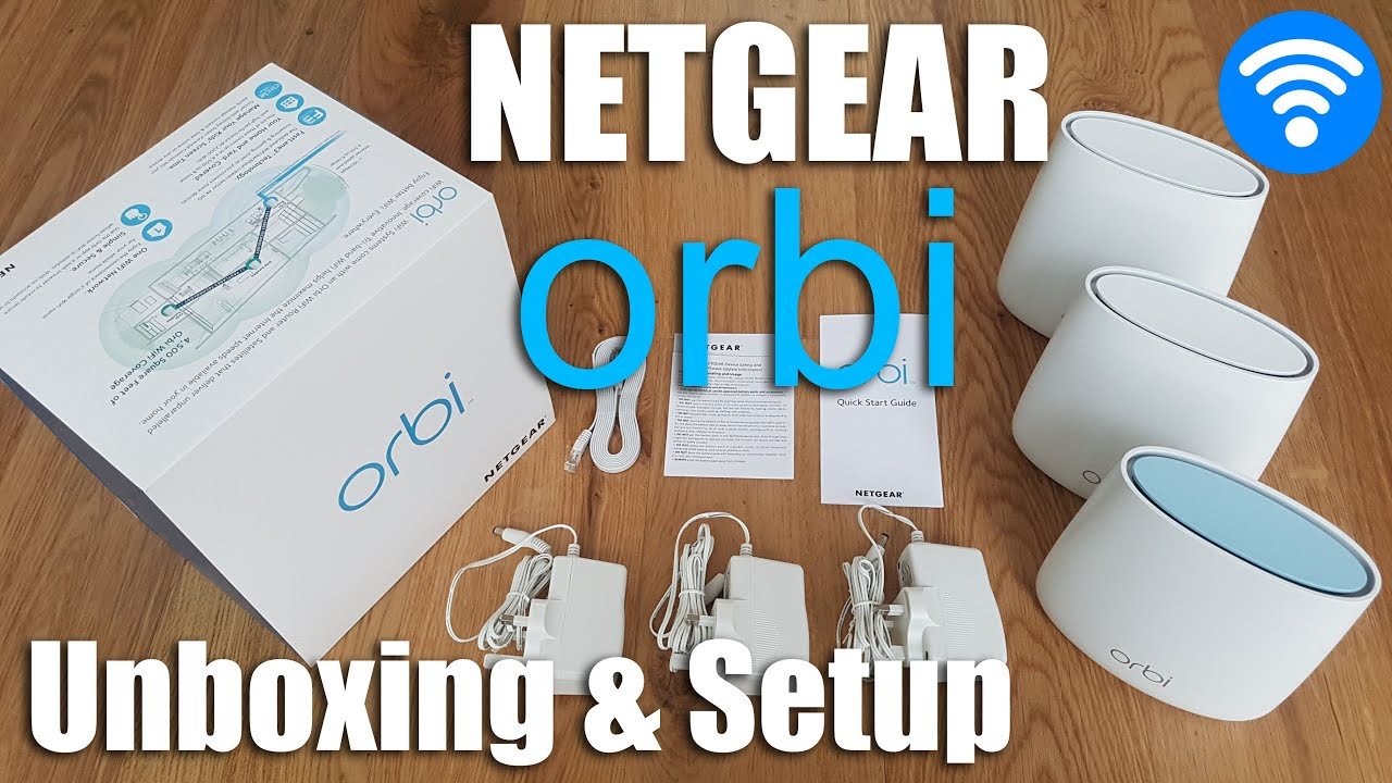 HOW TO GET FASTEST WiFi IN YOUR HOME!! Netgear Orbi [Unboxing and Complete  Setup]