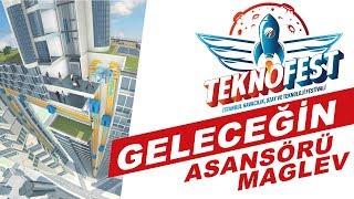 Teknofest Maglev Manyetik Yeni Nesil Asansör Teknolojisi