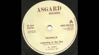 Valhalla - Lightning in the sky