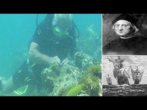 Wreck of Christopher Columbus's flagship Santa Maria found off coast of Haiti