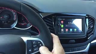 Установка android автомагнитолы NaviPilot DROID8 на новую Lada Vesta 2019 года выпуска.
