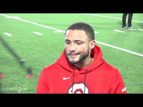 Austin Mack: Ohio State receiver on new quarterback, 2019 season after first practice of fall camp