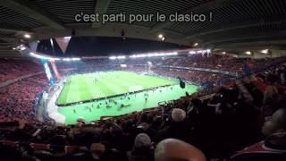 PSG OM 2014 Ambiance en tribune Auteuil !