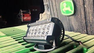 New Auxbeam Light for the Grain Cart