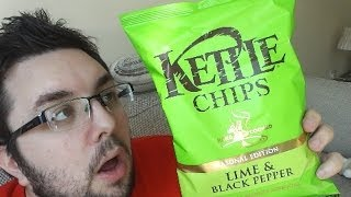 Kettle Chips Lime & Black Pepper Review