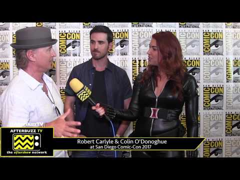 Robert Carlyle & Colin O'Donoghue Once Upon a Time at San Diego ComicCon 2017