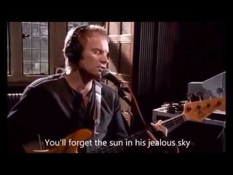 Sting - Fields Of Gold (with lyrics)