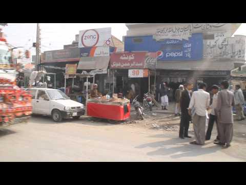 Bazar of Dara Ghazi khan 17 Feb 2014 Pakistan