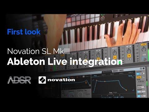 Novation 61 SL MkIII - Ableton Live integration Mp3