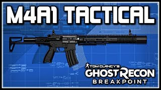 Ghost Recon Breakpoint | M4a1 Tactical Variant Blueprint