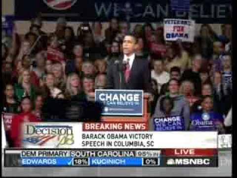 Victory Speech in South Carolina